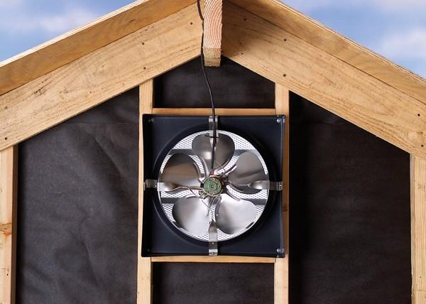 Mansfield attic fan